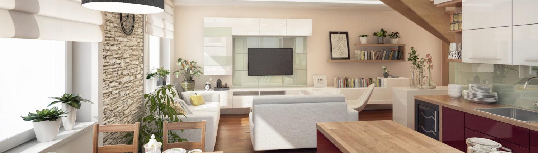 moderní, skleněná stěna s tv